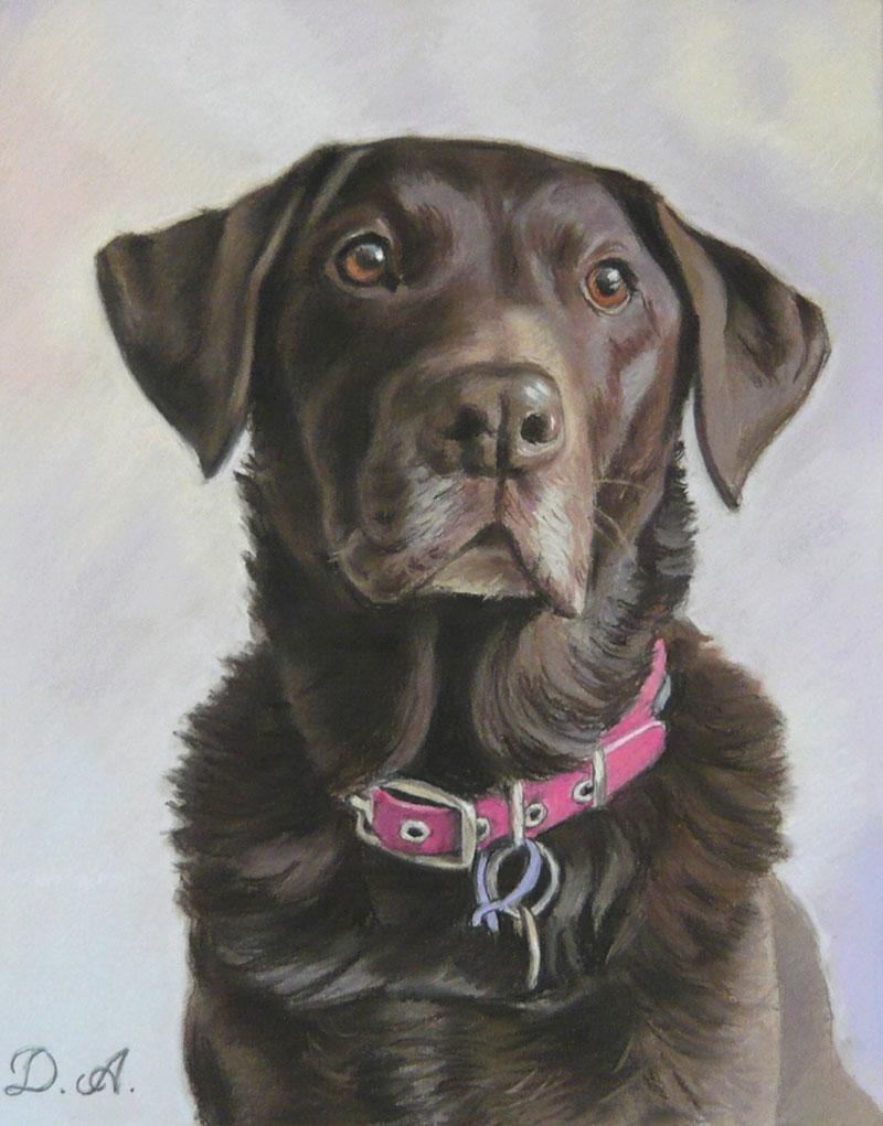 artiste peintre chien