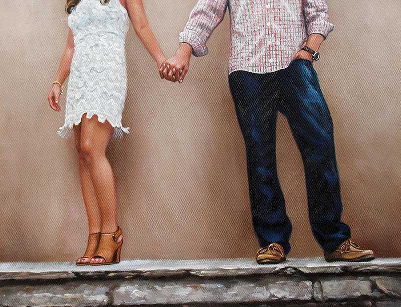 paint your picture couple holding hands
