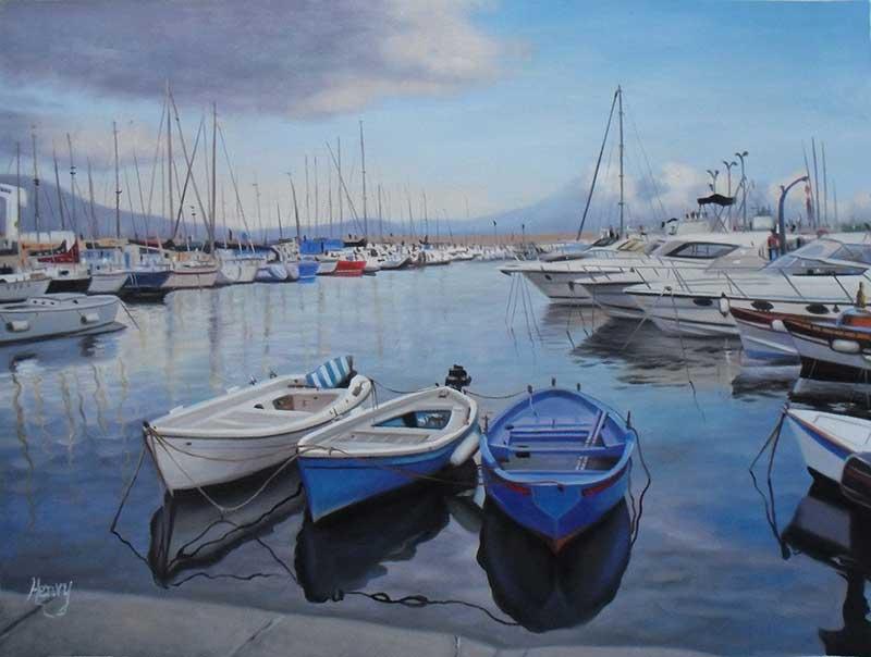 Portrait port et bateaux
