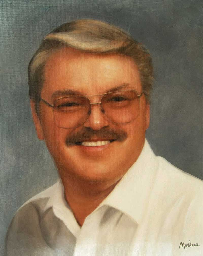 an vintage oil painting of a man