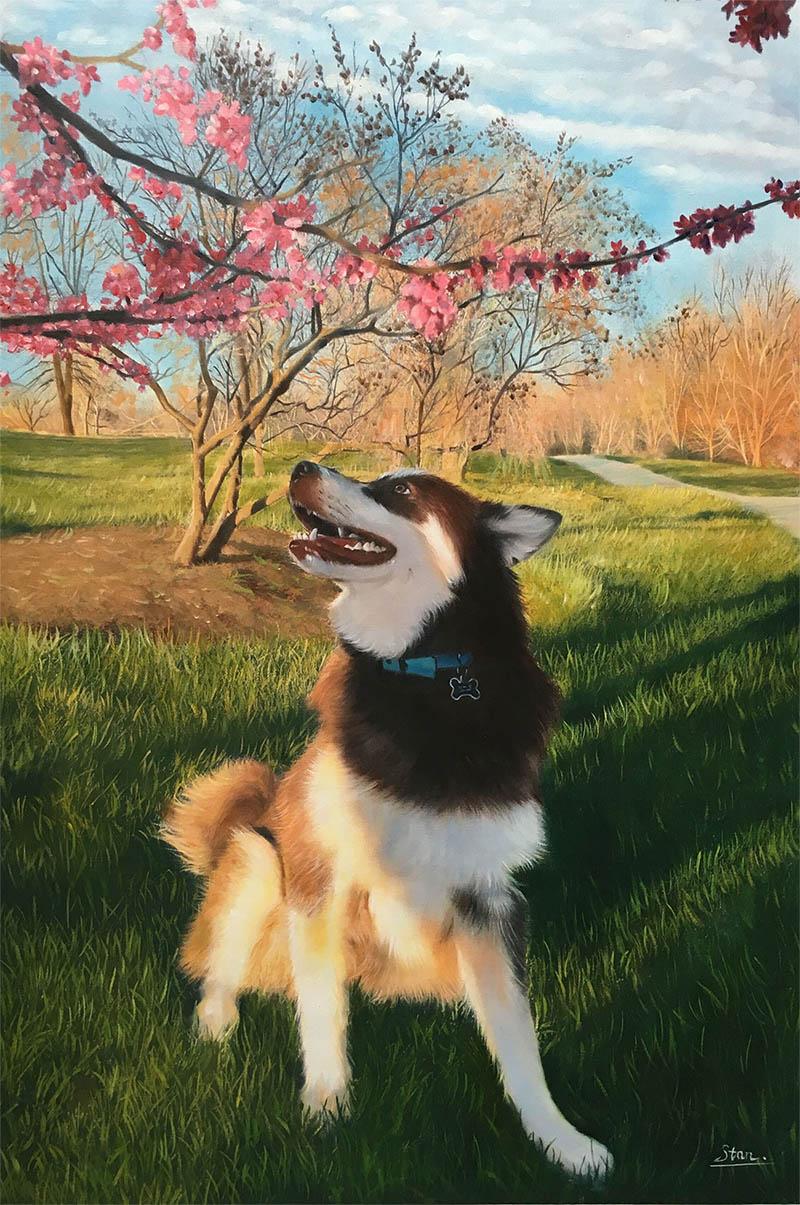 cani arte personalizzata