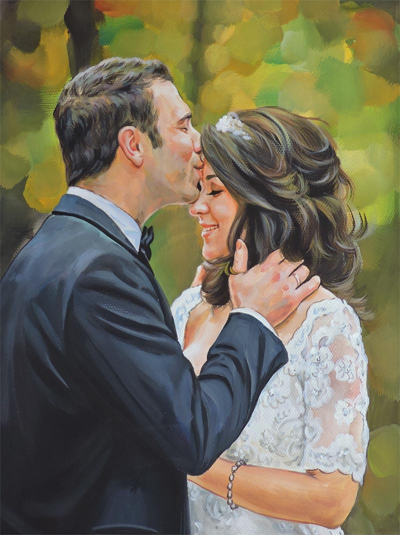 photo en peinture en ligne