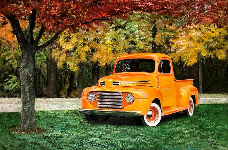 custom car painting