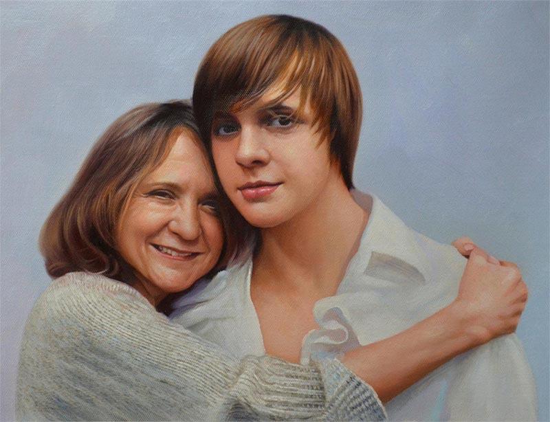wo kann ich einen Künstler finden der mein Portrait zeichnet