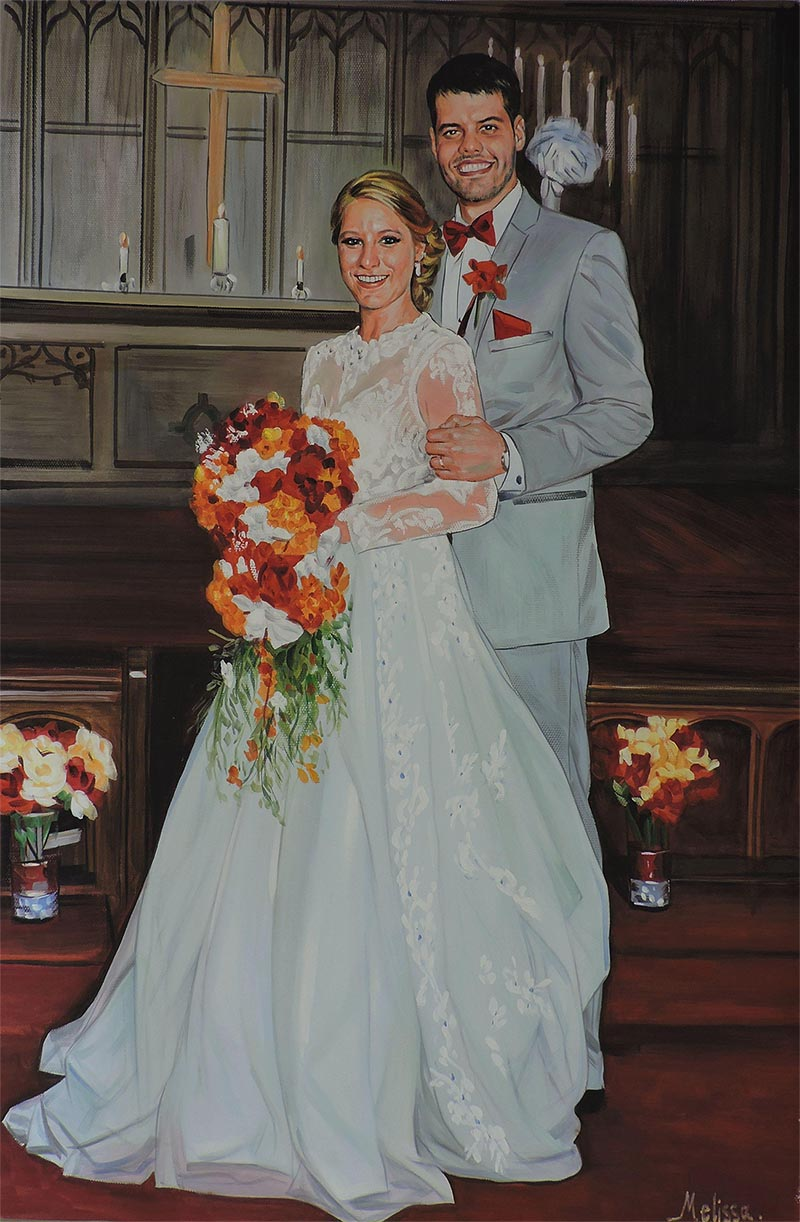 Portraitmaler Hochzeit