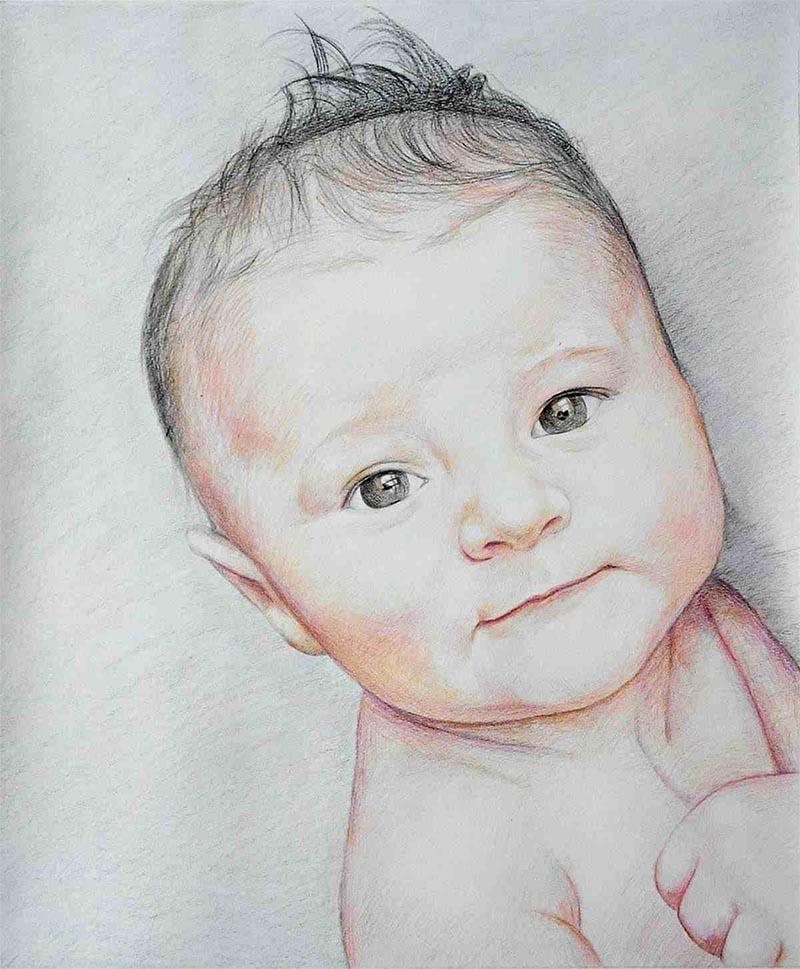 dibujo de retrato personalizado