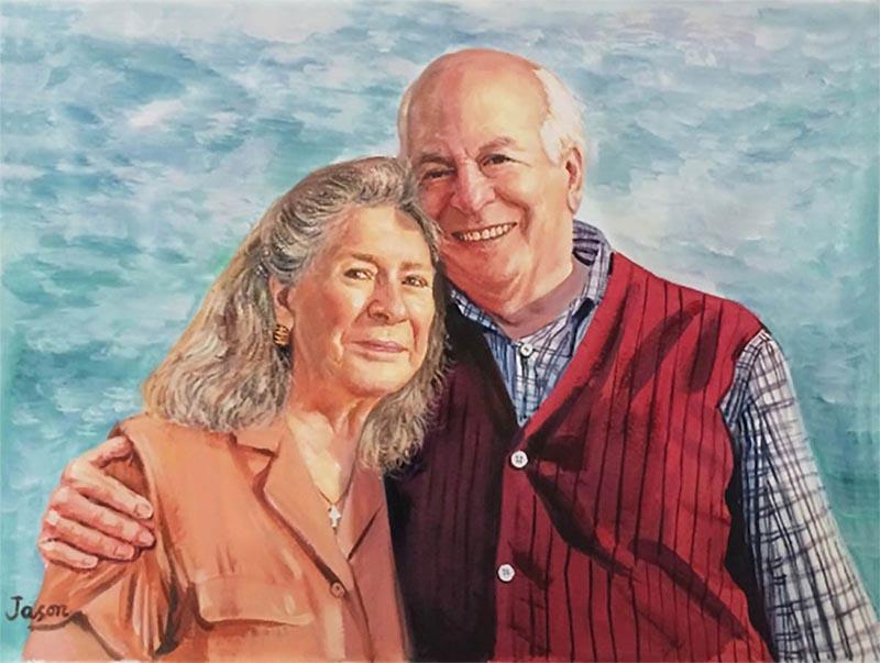 Portraitmaler zum Mieten