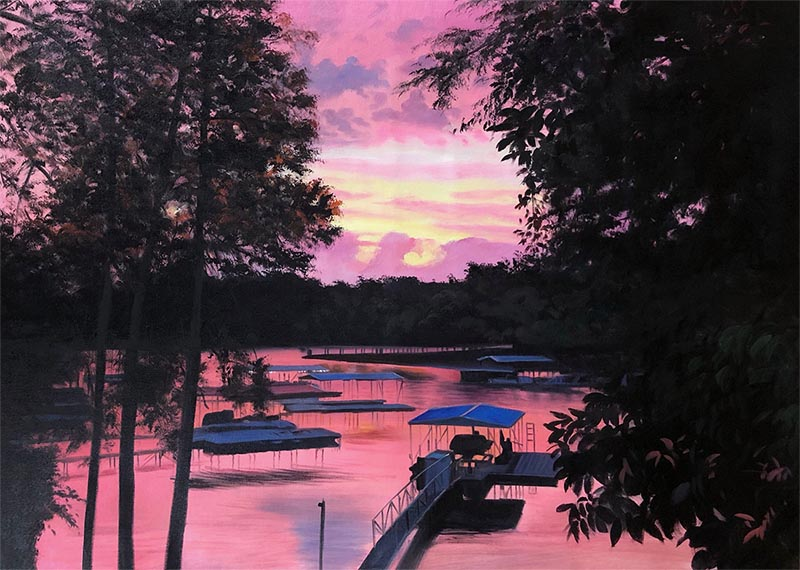 canvas painting of your photo