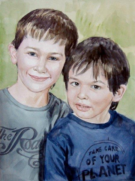Portrait frères