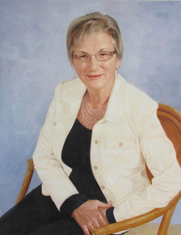Femme en portrait