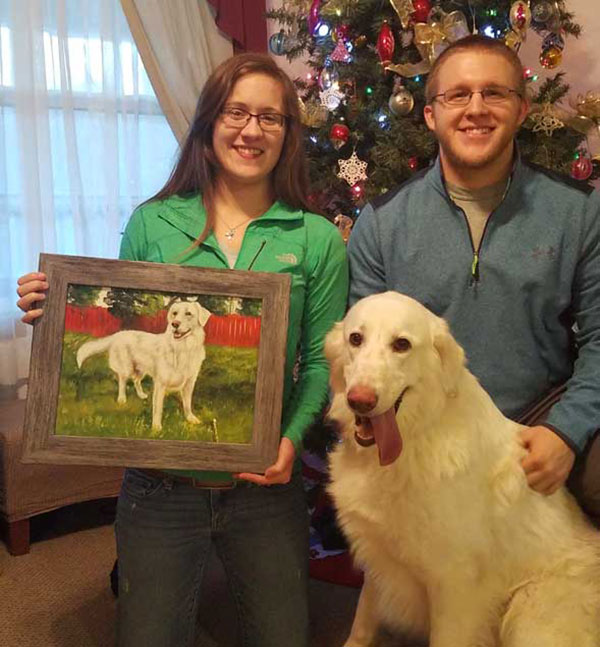 paint your pet custom painting