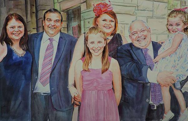 Portrait famille