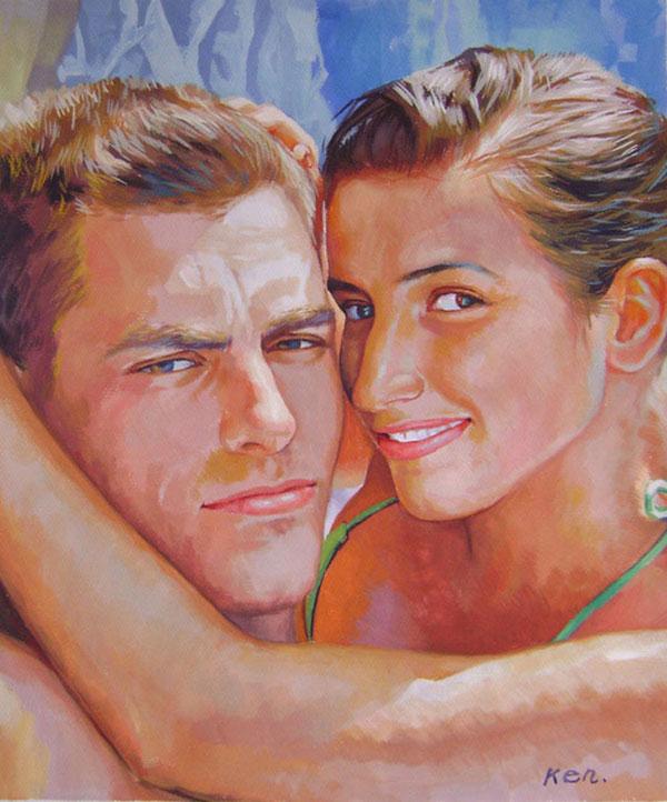 pittori dei ritratti