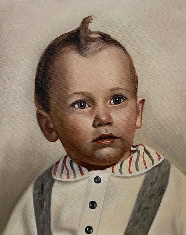 Peinture de bébé