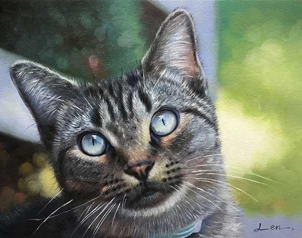 gatto arte