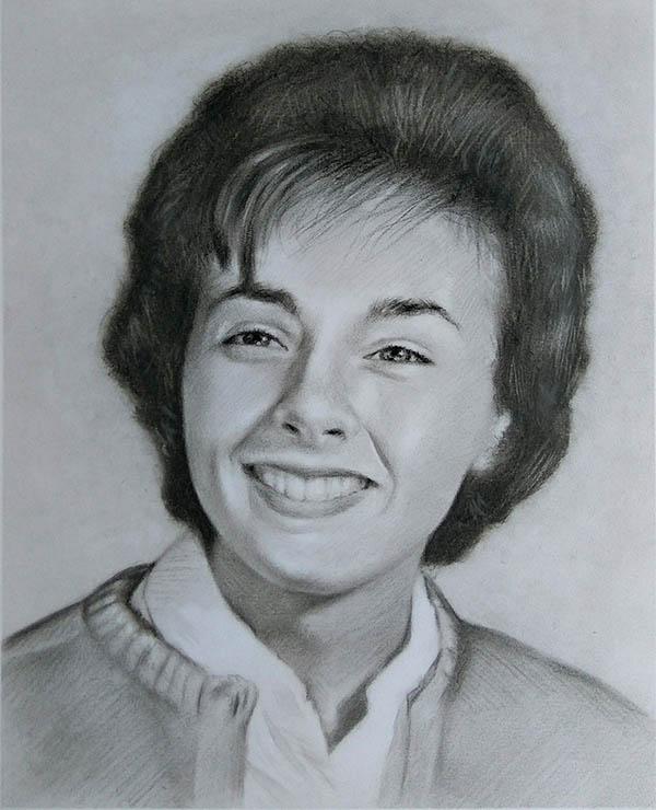 tableau portrait femme