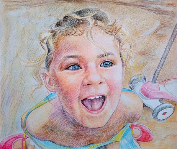 dessin portrait personnalisé