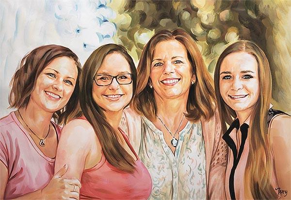 tableau peinture pour filles
