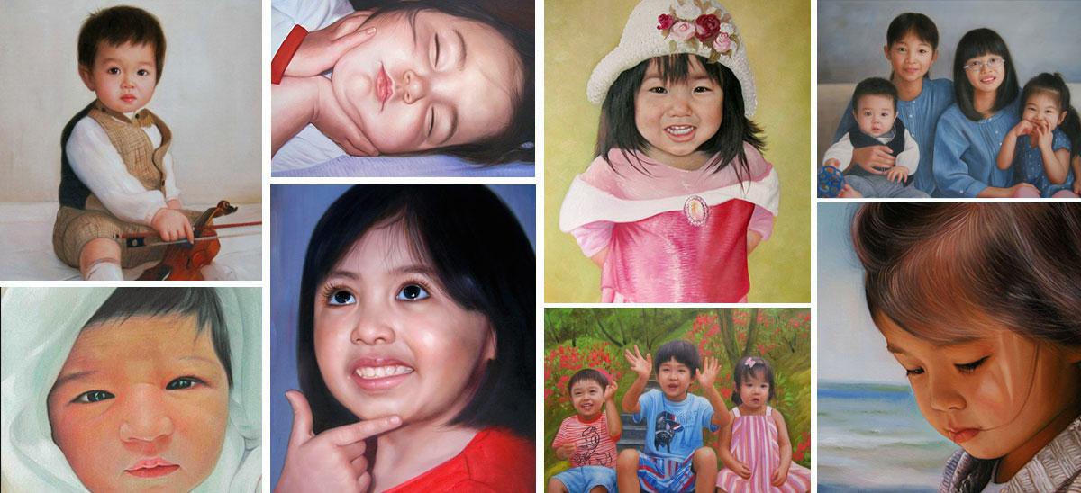 아기/어린이 초상화