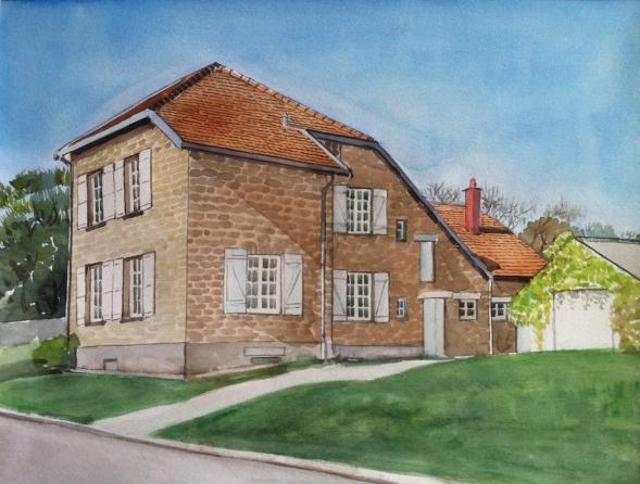 Peindre une maison