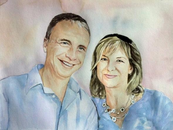 peintures de couples