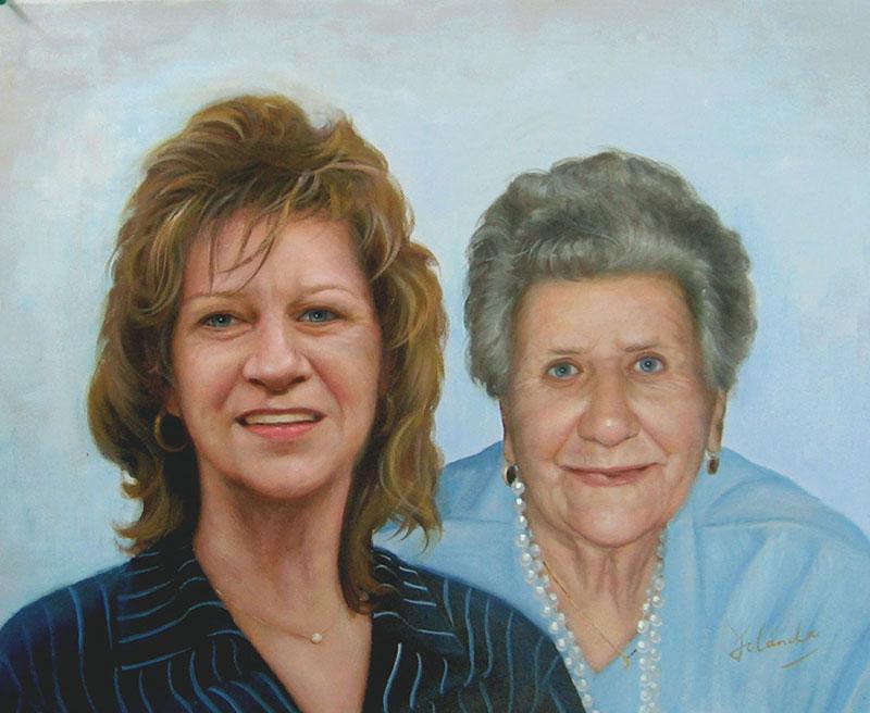 peinture de femmes modernes