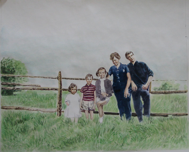 creer son tableau de famille