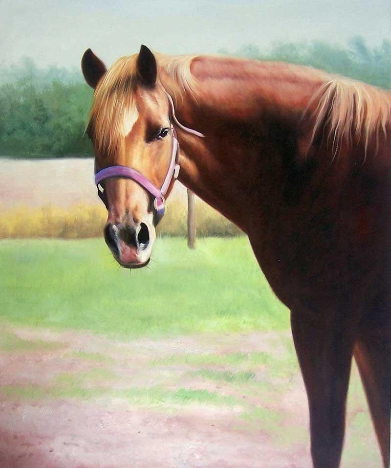 Peinture de cheval