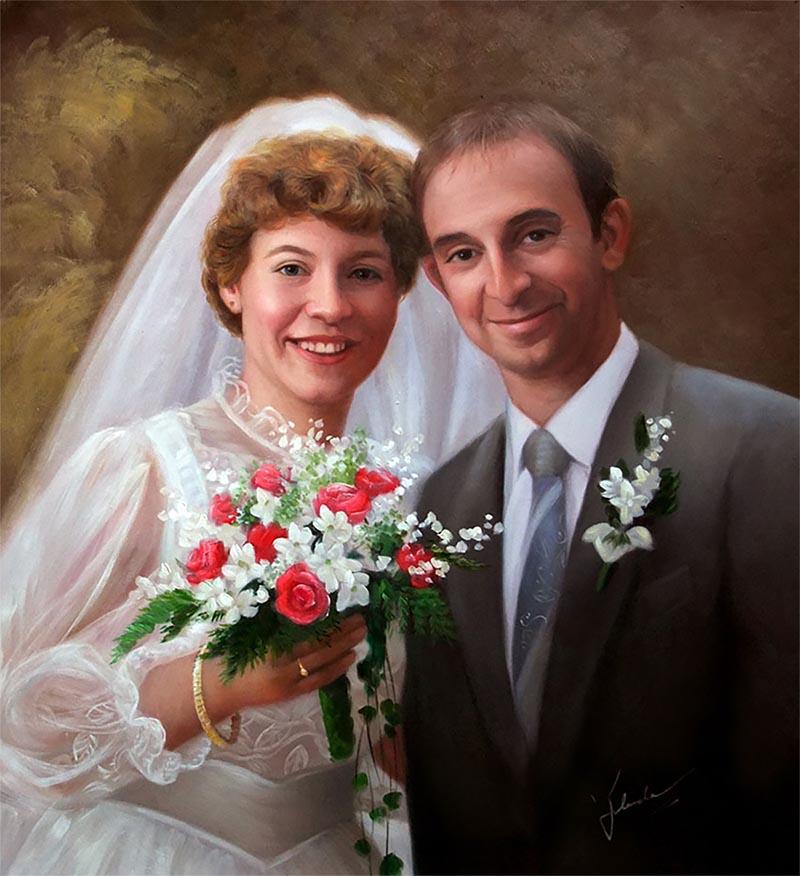 peintres de mariage