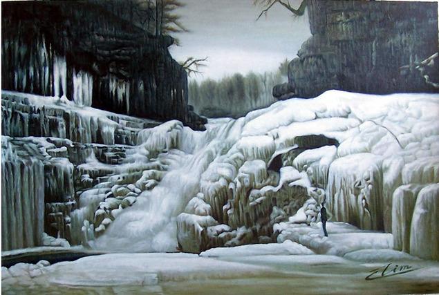 get a landscape picture painted
