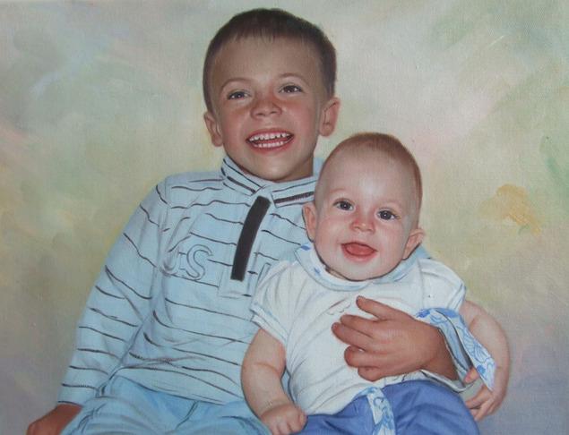 Portrait de frères