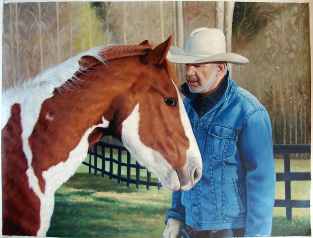 oil painting from photo