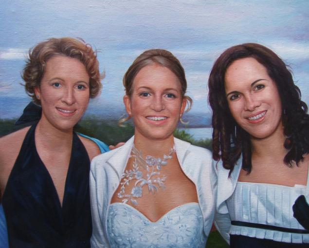 Peinture d'amies