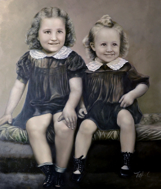 pictures to paintings in oil