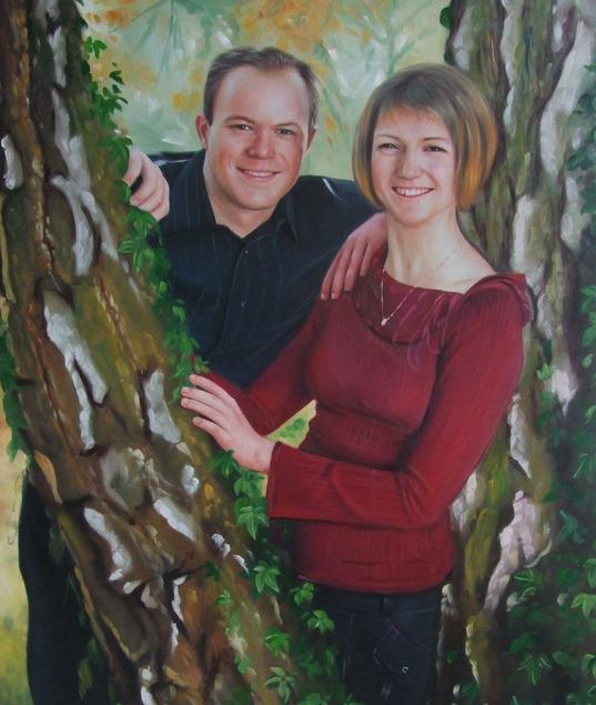 peindre un couple