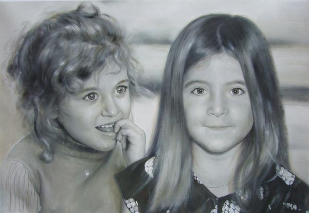 enfants en peinture