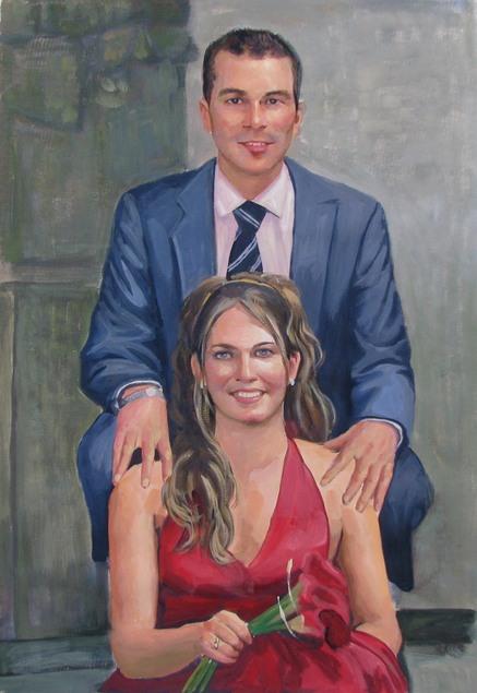 Couple en peinture