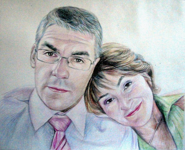 Couple en portrait