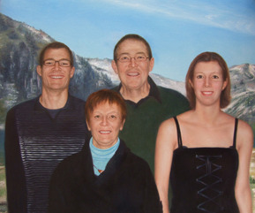 Famille en portrait