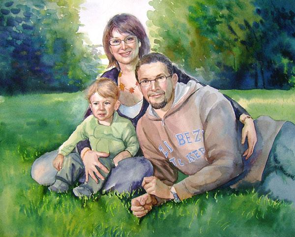 créer son tableau de famille
