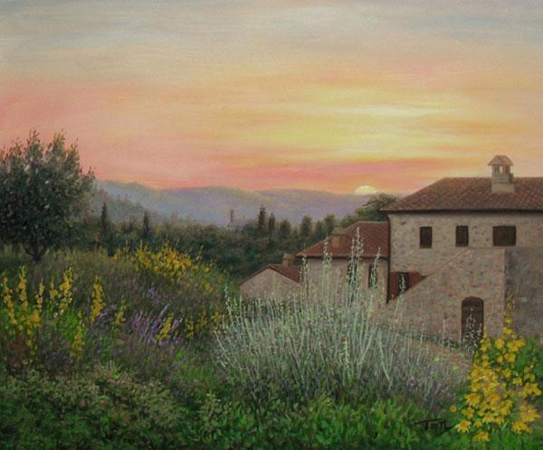 custom landscape artwork