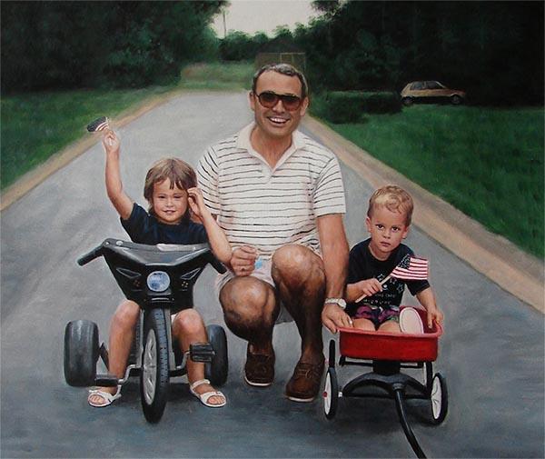 trasformare le foto nei dipinti