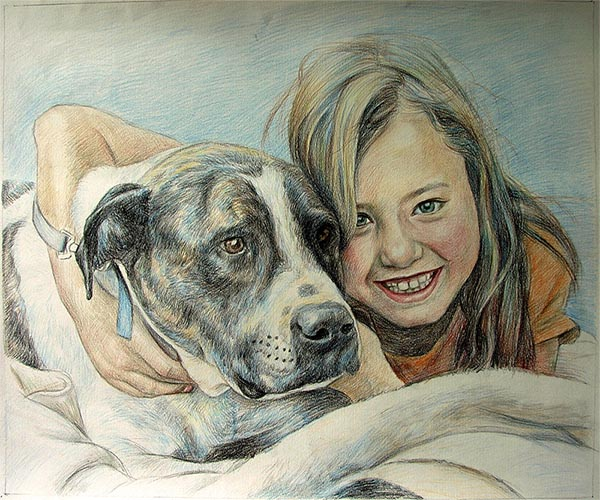 custom dog art