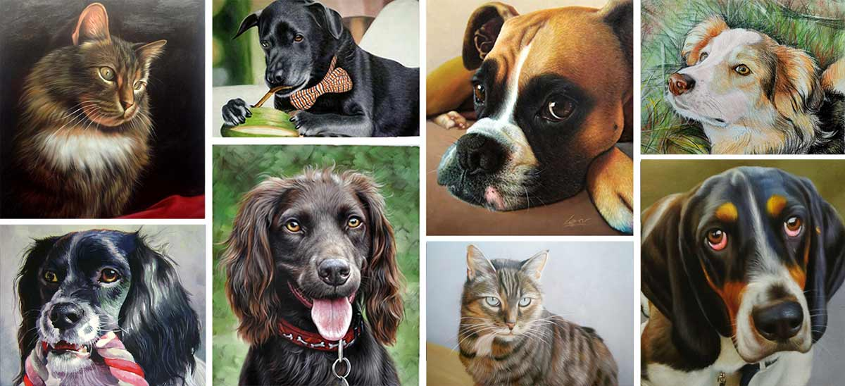 Pet Loss Memorial Portraits