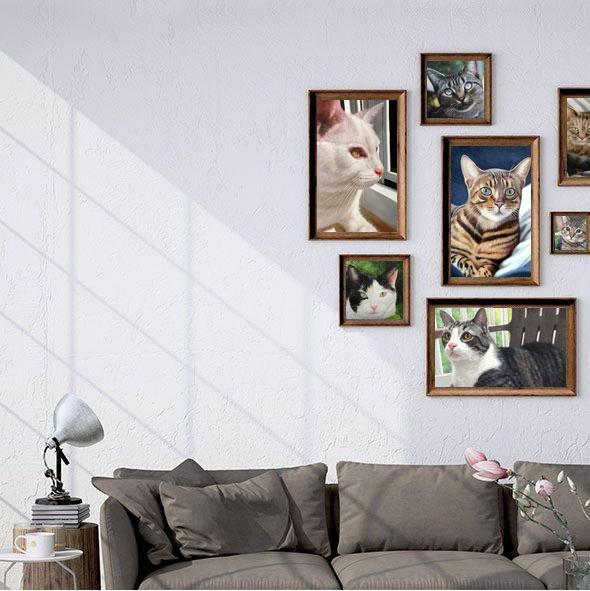Get a Portrait of Your Cat