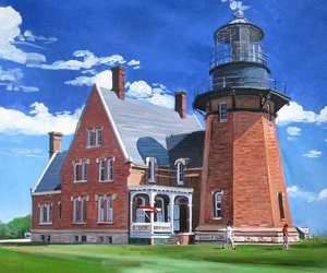 Custom Acrylic House Painting