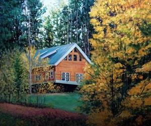 Custom Pastel House Painting