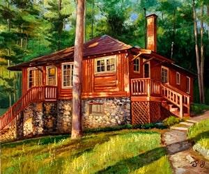 Custom House Paintings