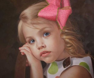 Child Oil Paintings