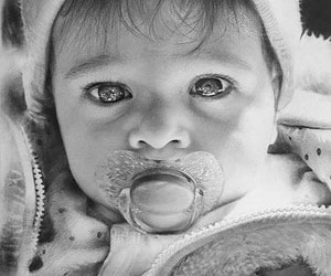 Child Black Pencil Drawings